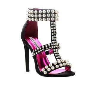 🍹💕 SummerSale! Pearl Embellished Heels!